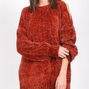 Sweaters - Soft Chenille Sweater